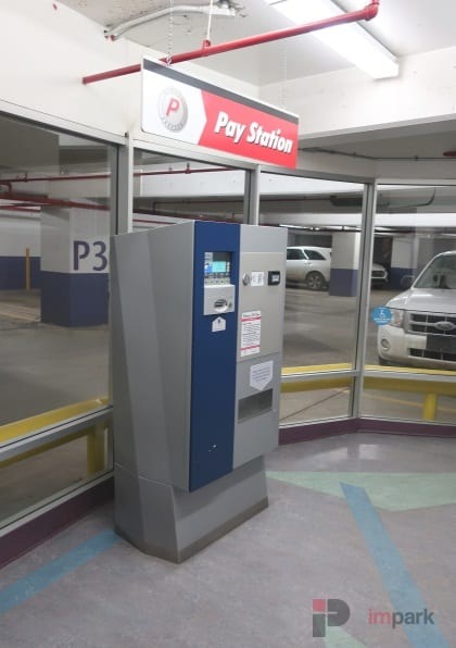 Bell Tower Parkade P3 Pay Station Edmonton Parking Guide