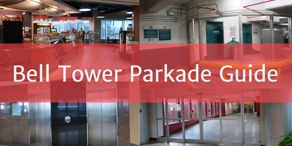 Bell Tower Parkade Photo Collage Edmonton Parking Guide