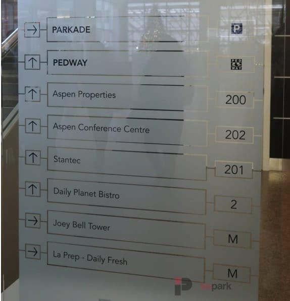 Bell tower directory edmonton parking guide