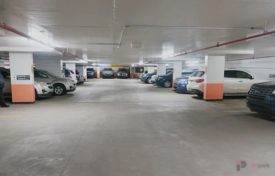 Canada Place Parkade Stalls Edmonton Parking Guide