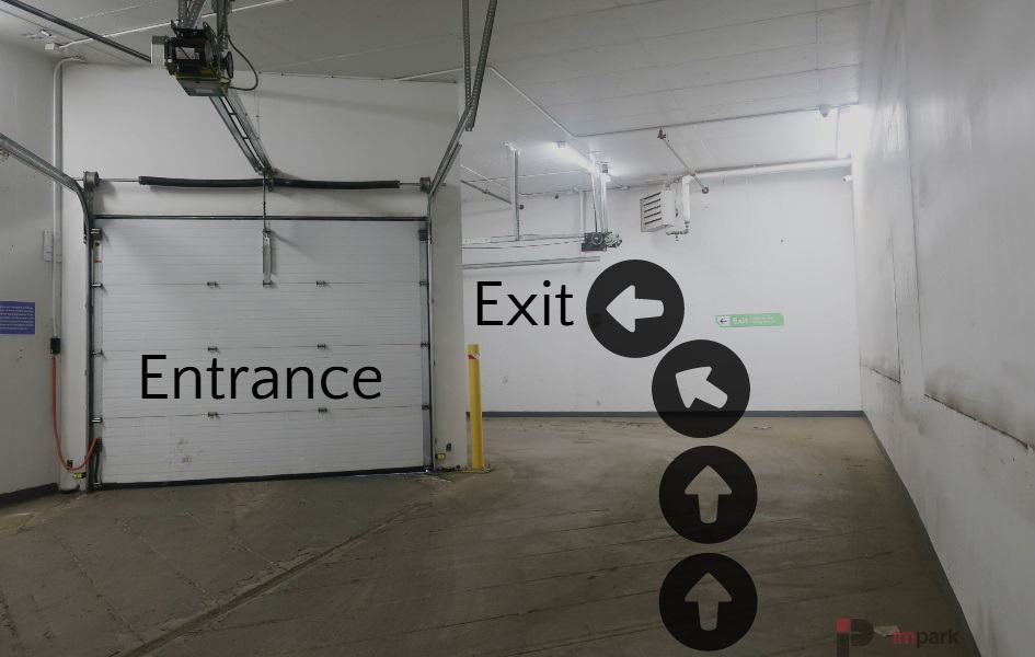 Hyatt Parkade Exit Edmonton Parking Guide
