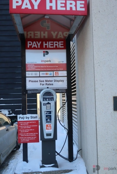 ATB Place Parkade Parking Lot Pay Station Edmonton Parking Guide