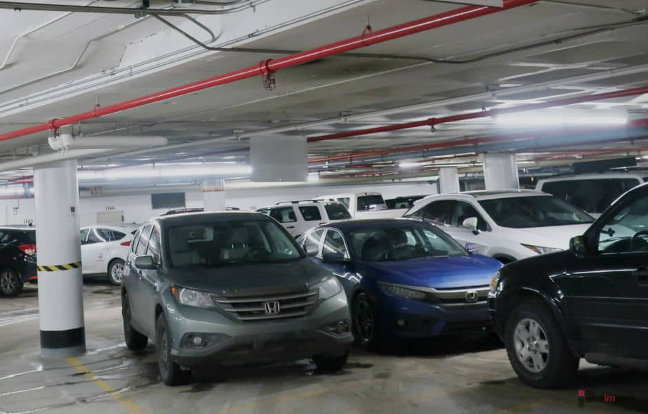 ATB Place Parkade Stalls Edmonton Parking Guide