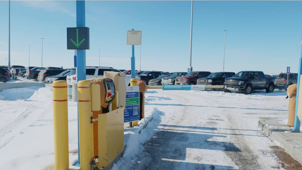 Canadian North Parking Entrance Edmonton Parking Guide