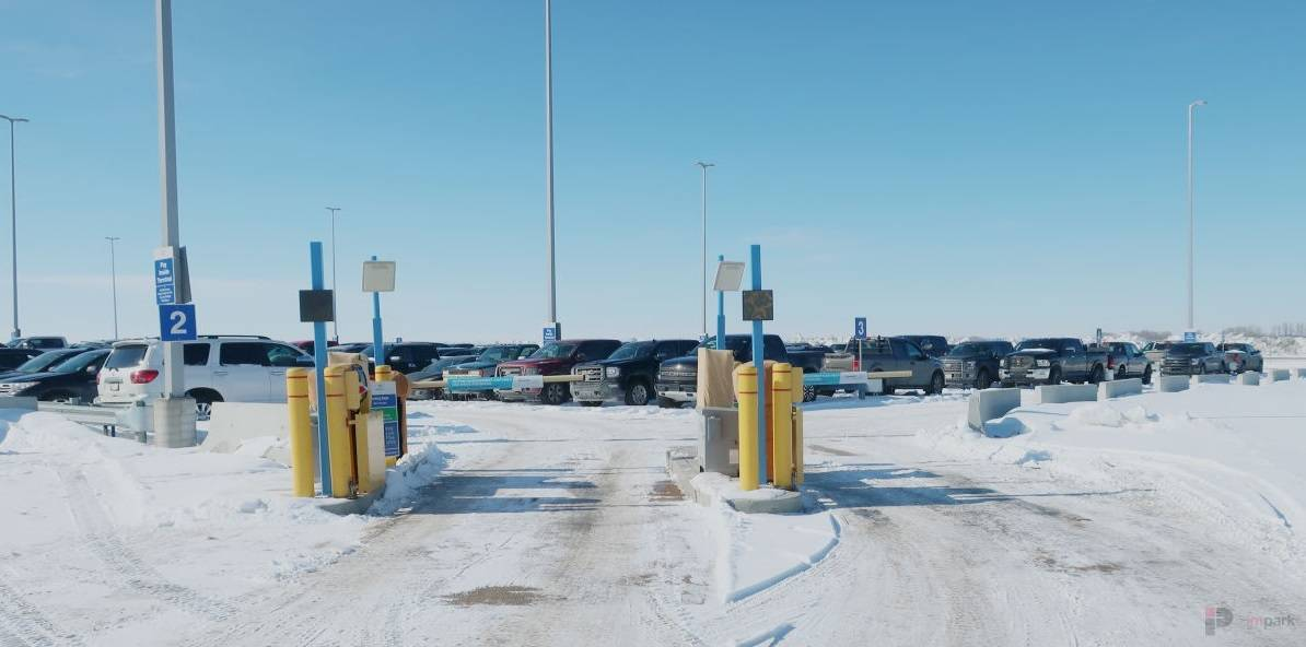 Canadian North Parking Lot Exit Edmonton Parking Guide