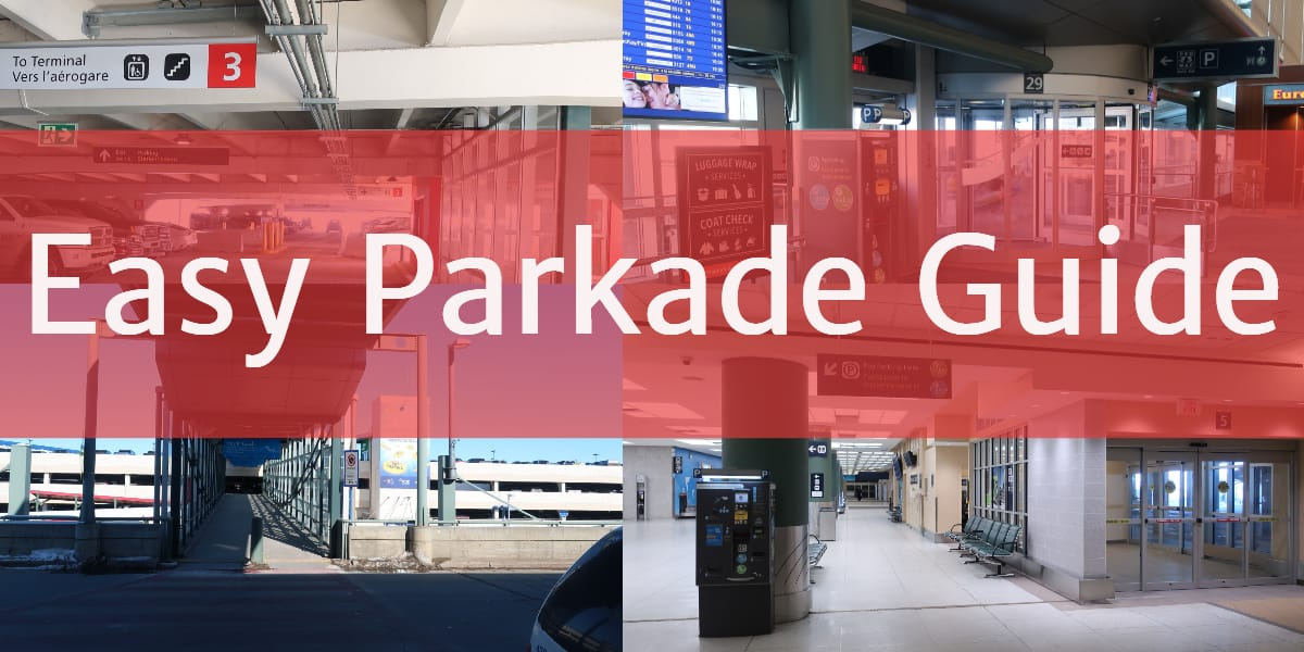 Easy Parkade Guide Edmonton Parking Guide
