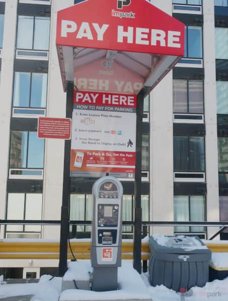 Rice Howard Parkade Pay Station 10 Edmonton Parking Guide