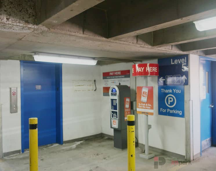 Rice Howard Parkade Pay Station 5 Edmonton Parking Guide