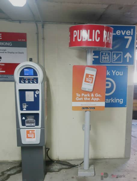 Rice Howard Parkade Pay Station 7 Edmonton Parking Guide