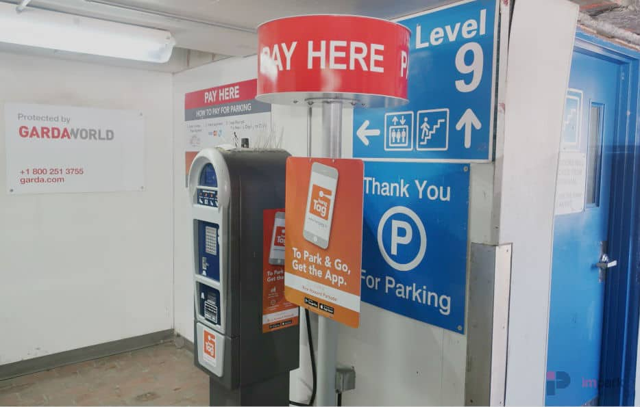 Rice Howard Parkade Pay Station 9 Edmonton Parking Guide