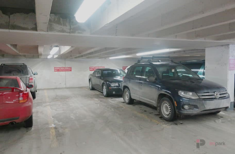 Rice Howard Parkade Tandem Stalls Edmonton Parking Guide