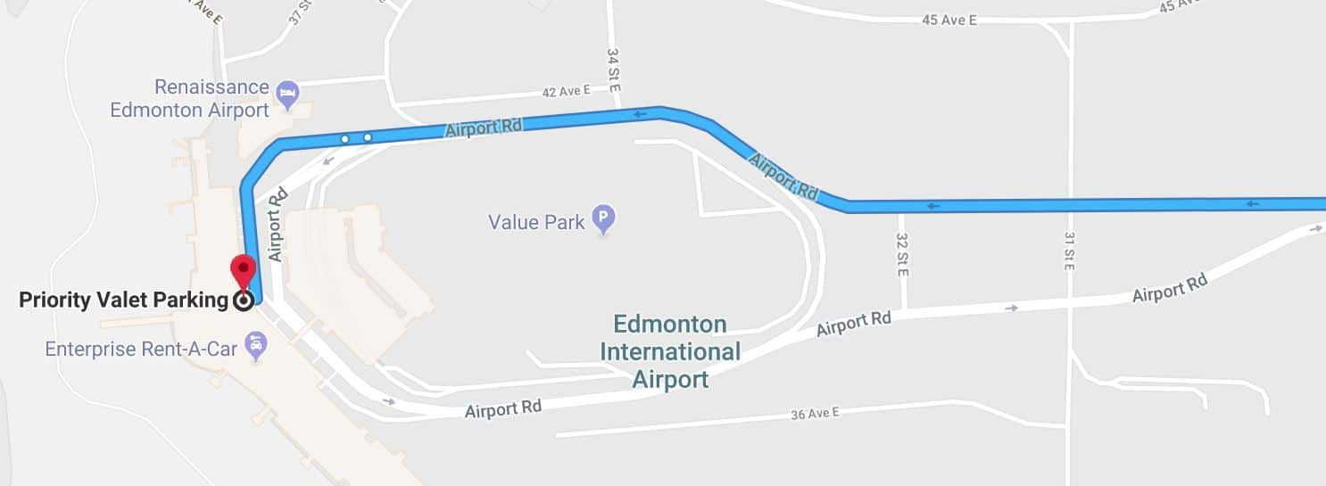 Priority Valet Map 2 Edmonton Parking Guide