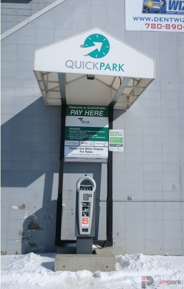 QuickPark South Pay Station Edmonton Parking Guide