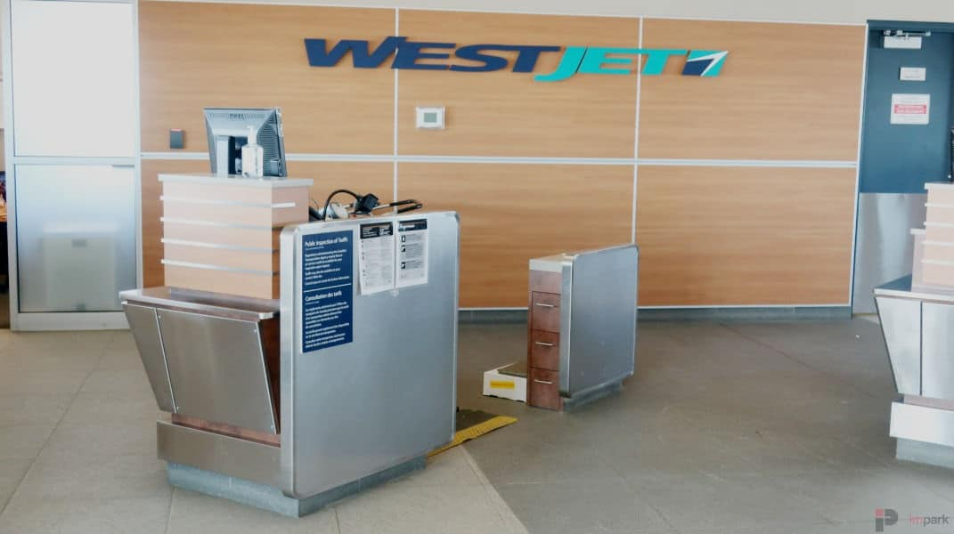 jetSet WestJet Checkin Counter Edmonton Parking Guide