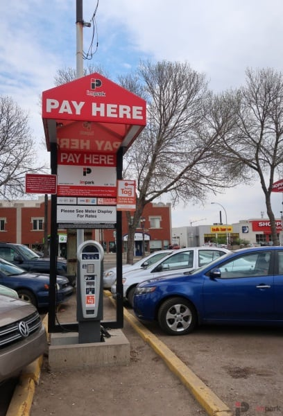 Army & Navy Surface Parking Lot 2nd Pay Station Edmonton Parking Guide