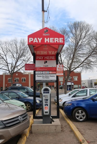 Army & Navy Surface Parking Lot Pay Station Edmonton Parking Guide