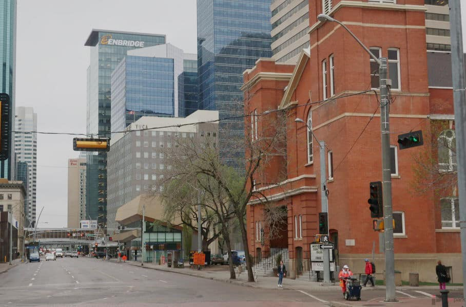 Chateau Lacombe Hotel Parkade Downtown Edmonton Parking Guide
