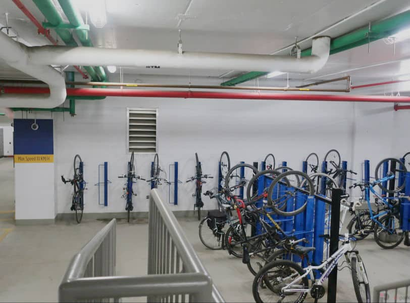 Epcor Tower Parkade Bike Parking Edmonton Parking Guide