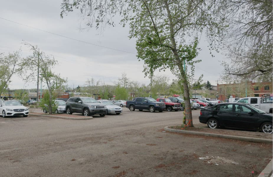Old Strathcona Surface Parking Lot Edmonton Parking Guide