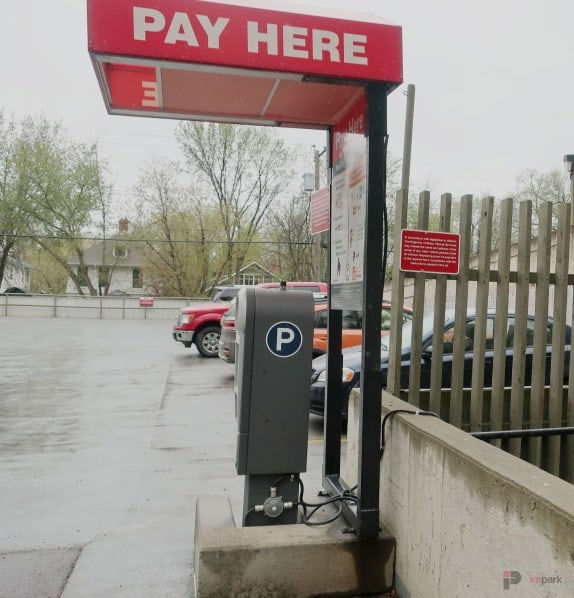 Concord Tower Surface Parking Lot Pay Station 2 Edmonton Parking Guide