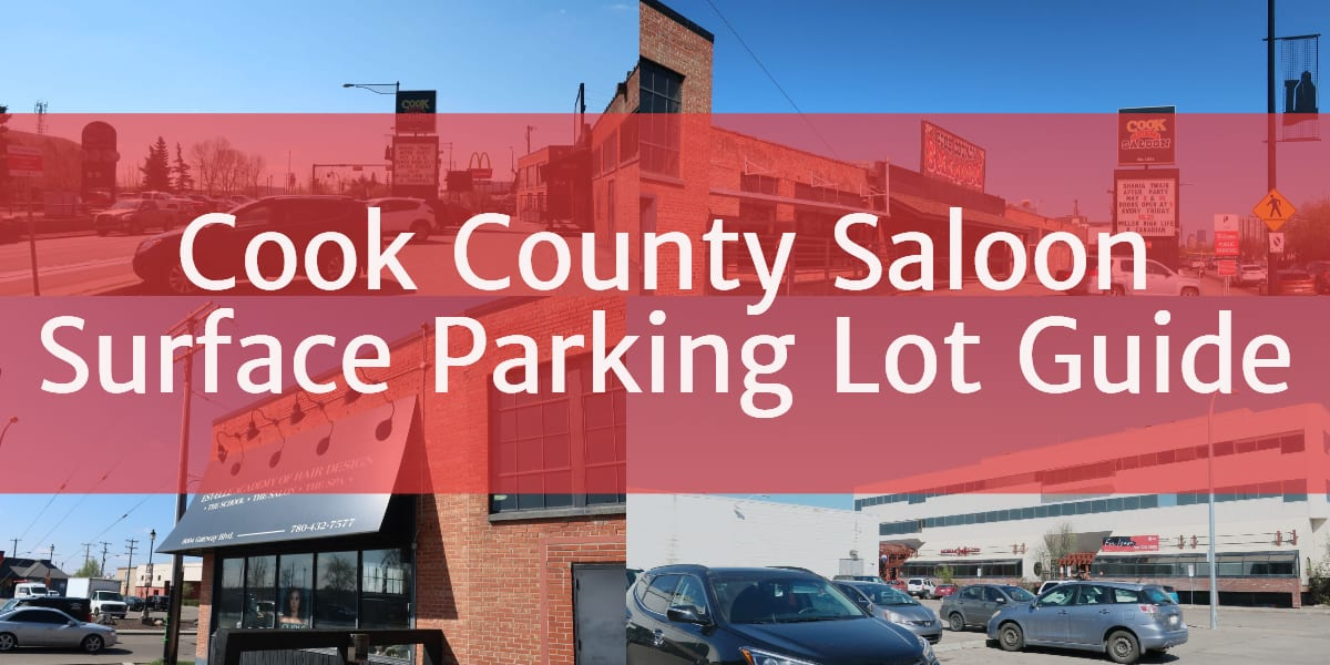 Cook County Saloon Surface Parking Lot Header Edmonton Parking Guide