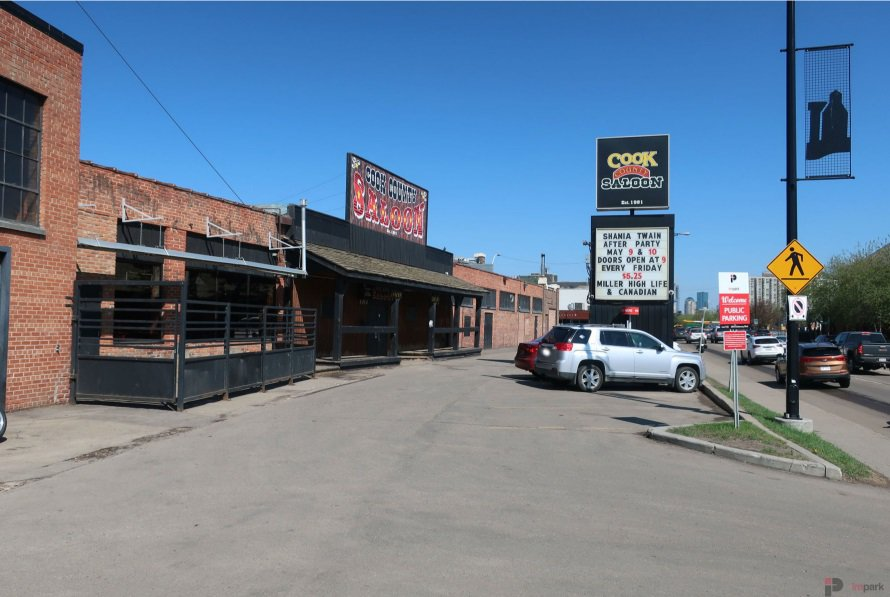 Cook County Saloon Surface Parking Lot Stalls Edmonton Parking Guide
