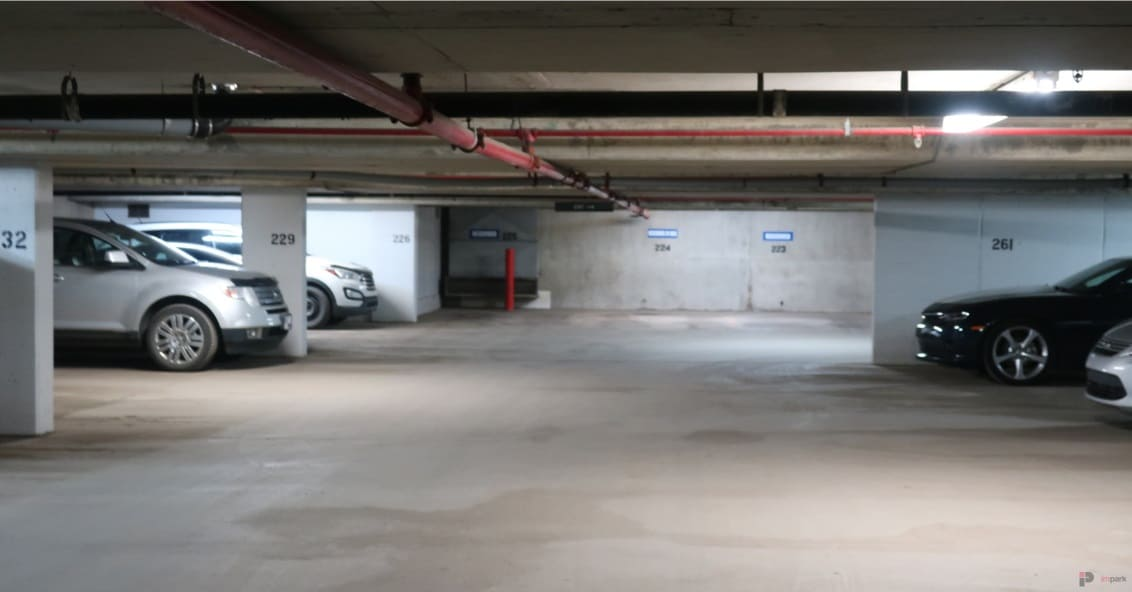 Garneau Professional Centre Parkade Stalls Edmonton Parking Guide