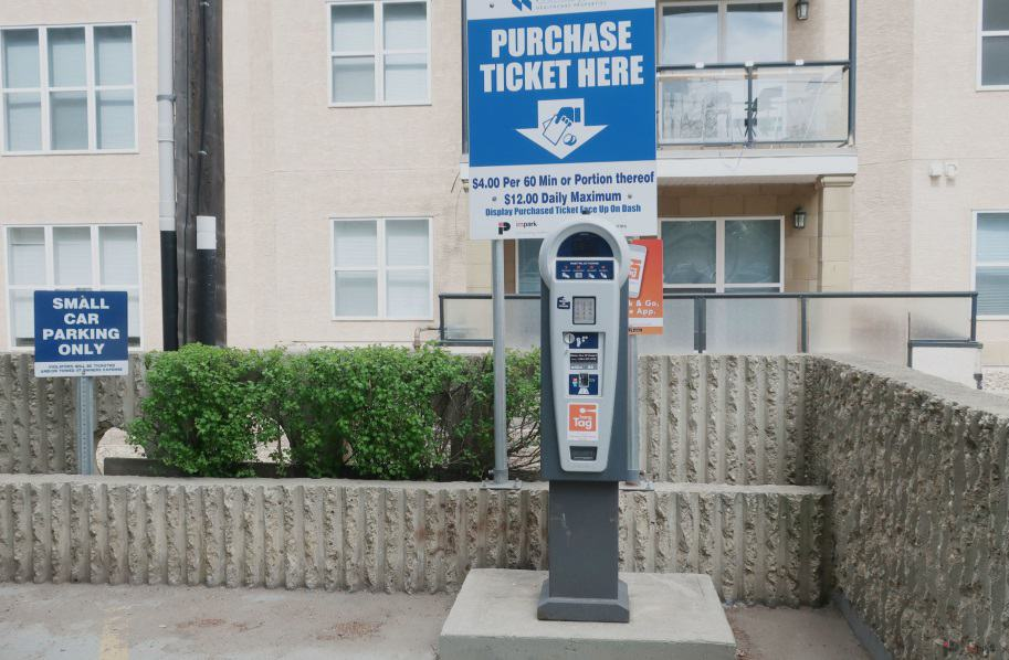 Garneau Professional Centre Pay Station Edmonton Parking Guide