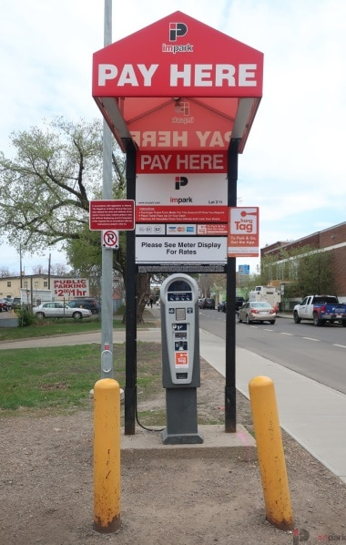 Old Strathcona Medical North Lot Pay Station Edmonton Parking Guide