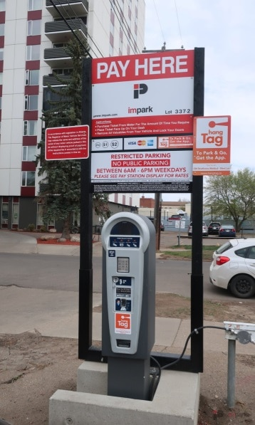 Old Strathcona Medical West Lot Pay Station Edmonton Parking Guide