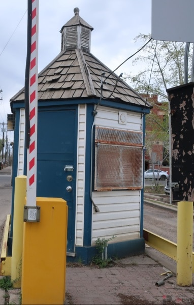 Old Strathcona Surface Parking Lot Attendant Booth Edmonton Parking Guide