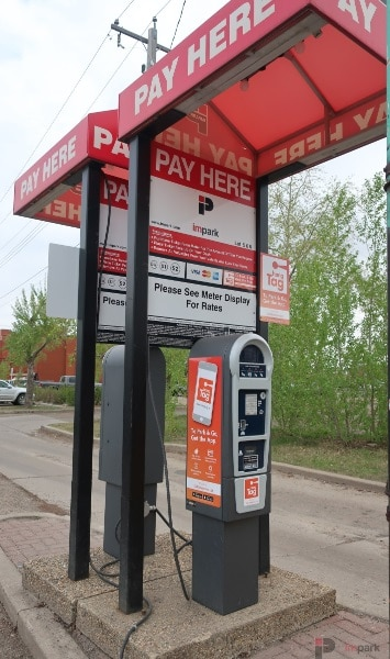 Old Strathcona Surface Parking Lot Pay Station 1 Edmonton Parking Guide