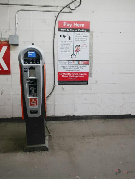 Varscona Parkade Pay Station 2 Edmonton Parking Guide