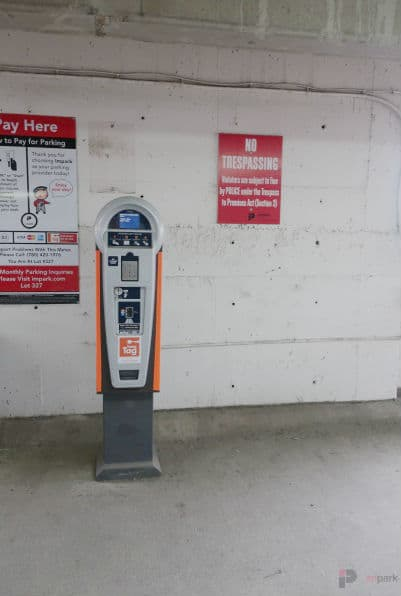 Varscona Parkade Pay Station Edmonton Parking Guide