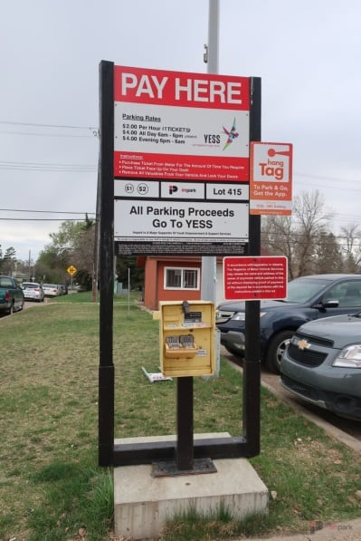 YESS Surface Parking Lot Pay Station Edmonton Parking Guide