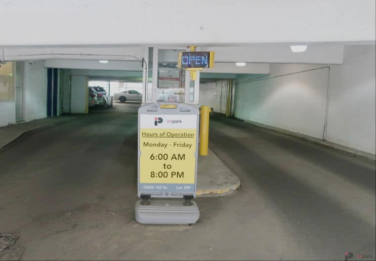 Central Car Park Entrance Edmonton Parking Guide