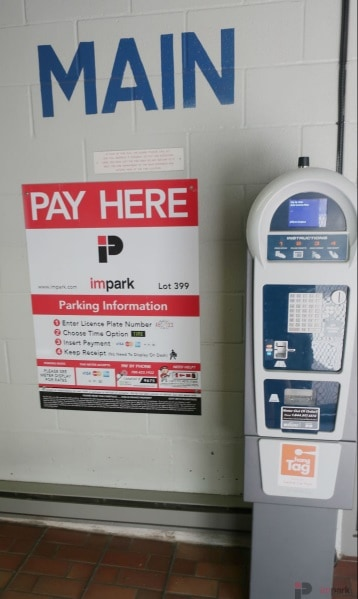 Central Car Park Pay Station 2 Edmonton Parking Guide