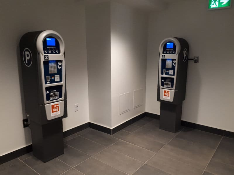Ice District Central Parkade - P2 Pay Station by Edmonton Parking Guide