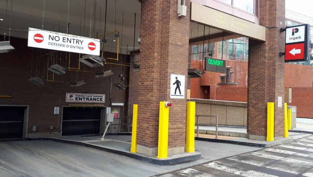 Canada Place Parkade - Downtown Edmonton by Edmonton Parking Guide