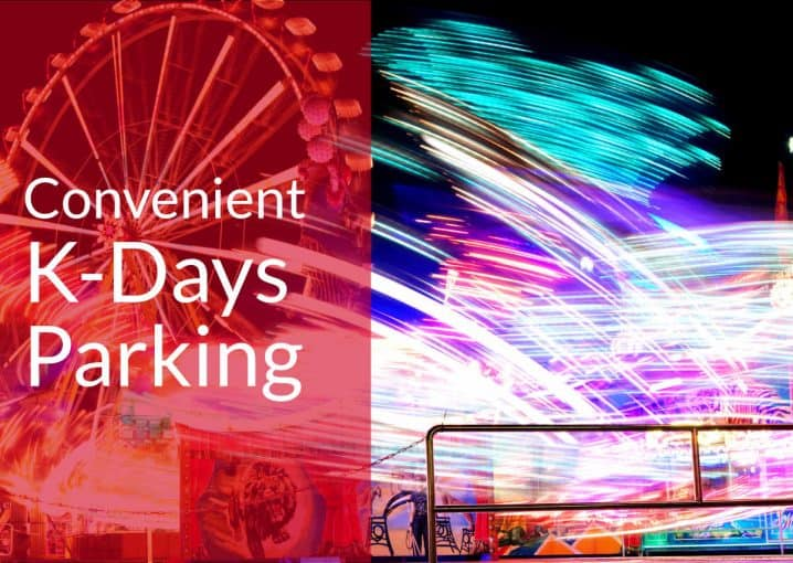 Convenient K-Days Parking by Edmonton Parking Guide