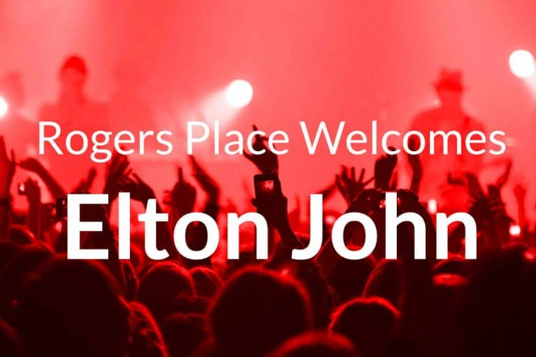 Elton John Parking at Rogers Place Edmonton