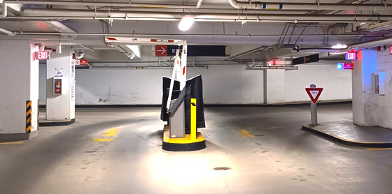 Impark Lot 501 Entrance by Edmonton Parking Guide
